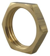 Counter Nut - M12x1.0, brass