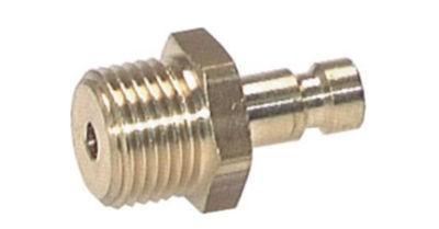 Kupplungsstecker mit Außengewinde NW2.7 Typ20