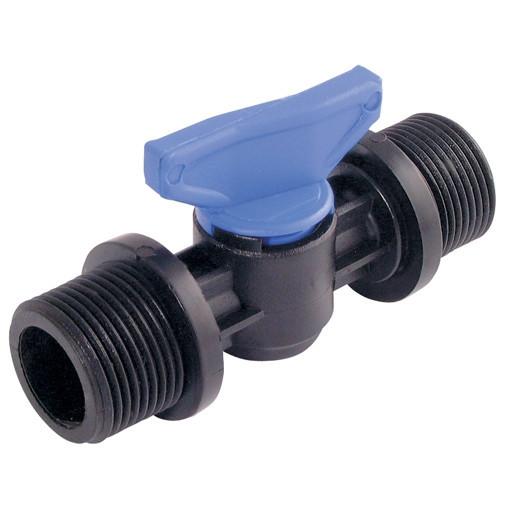 Ball valves APK4 made of plastic