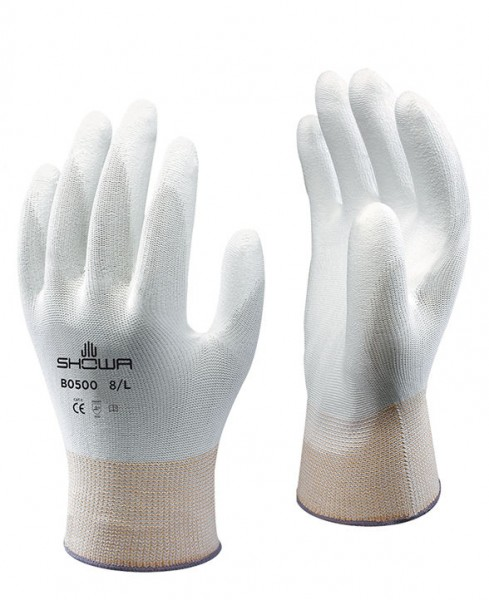 SHOWA B0500 WHITE PALM FIT - Multi-purpose gloves