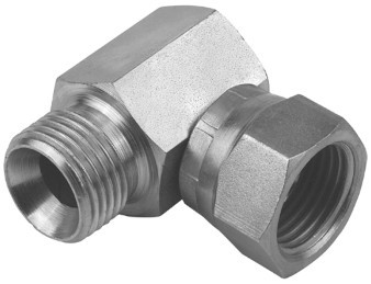 Hydraulic-elbow HDW5, for flat seal