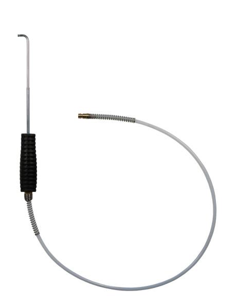 Hakensonde ID-ø4mm mit Teflonschlauch, Stecker NW5 Typ21