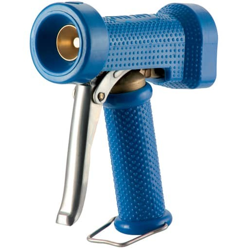 Wash gun for hot water to 50°C/122°F