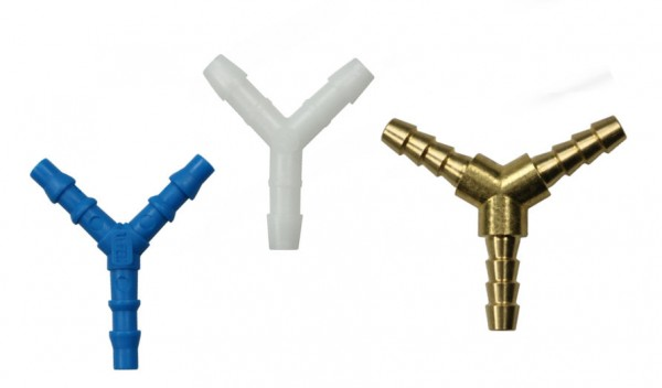 Y hose connector
