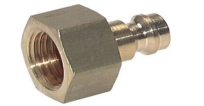 Coupler plug with female thread NW5 Type 21