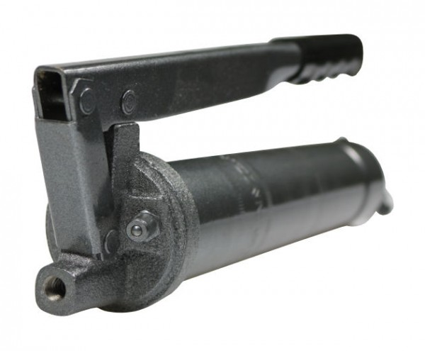 Handhebel-Fettpresse M10x1, mit Düsenrohr und Greifkupplung
