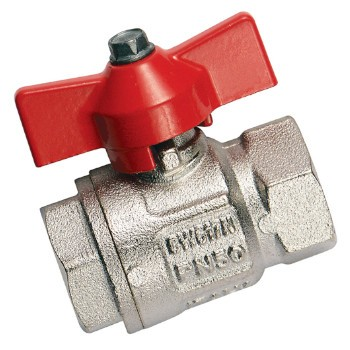 Brass-Ball valves PN50 - T-Handle, FT