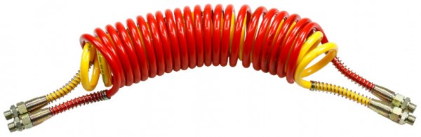 DUO-LKW-Spiral coil hose