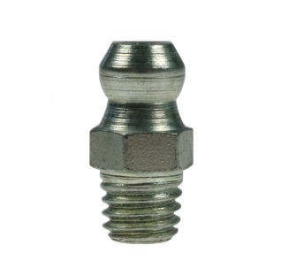 Grease nipples according to DIN71412, straight H1 thread M6x1