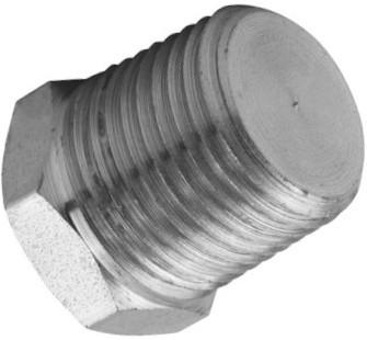Hydraulik-Verschlussstopfen – Zollgewinde – konisches Außengewinde