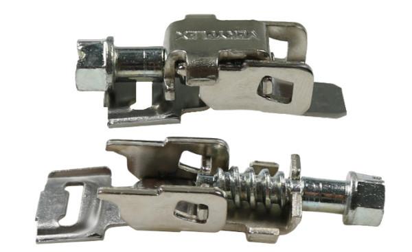 Klappbare Spannköpfe für Bandbreite 9mm, VPE50 Stück