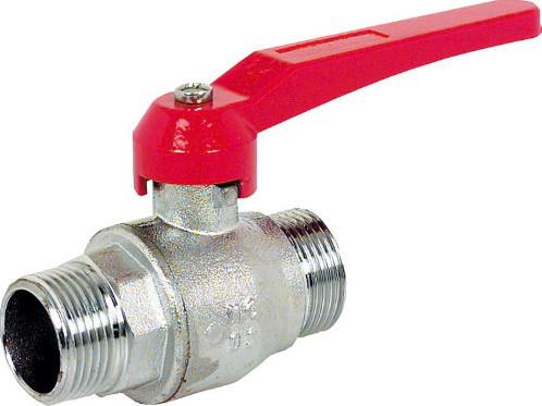 Brass-Ball valves PN20 - Lever handle, MT/MT