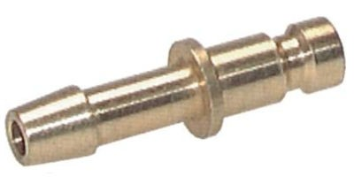 Coupler plug with hose connector NW2.7 type 20