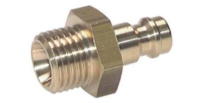 Coupler plug with male thread NW5 Type 21