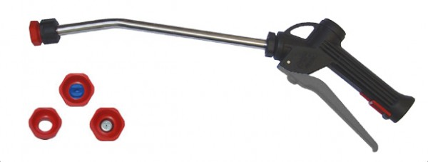 Spray lance Serie 2101 with stainless steel tube - grey trigger