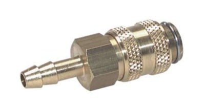 Coupling made of brass NW5 TYP21, with hose connection