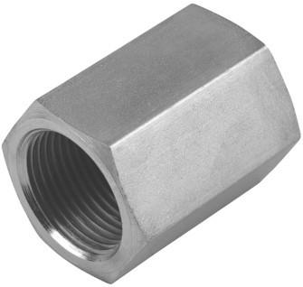 Hydraulik Muffe reduzierend HDMU2-2 Innengewinde BSP