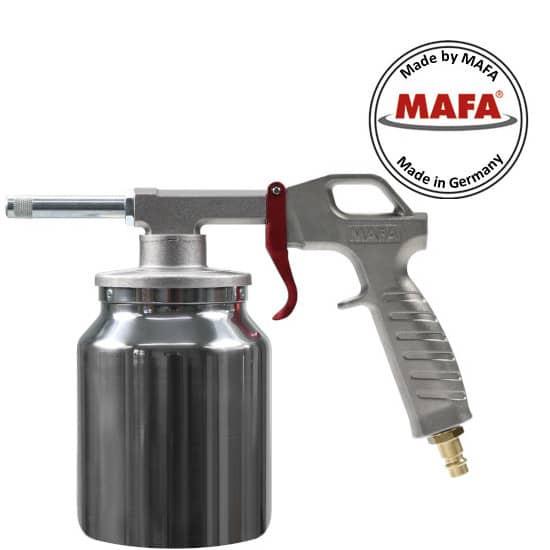 MAFA-Sandstrahlpistole, mit Alu-Saugbecher 1Liter, Art. 1502105