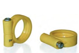 VARIO-clamping ring with screw