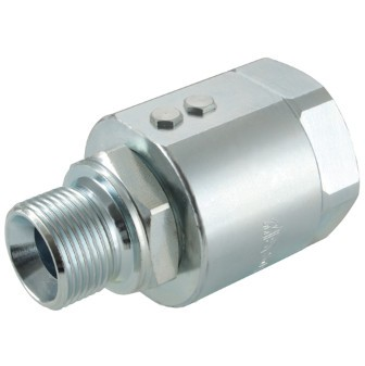 Hydraulic-Swivel Joint straight, BSP thread