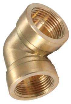 Elbow-piece - female thread BSP - Brass