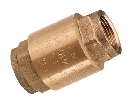 Check valves brass - Type Europa with female thread