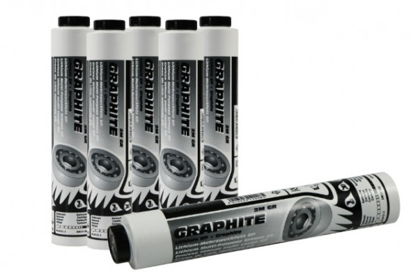 Lube-Shuttle grease cartridge Graphite Multi purpose
