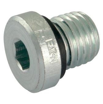 Hydraulik-Verschlussstopfen, Innensechskant, metrisches Gewinde