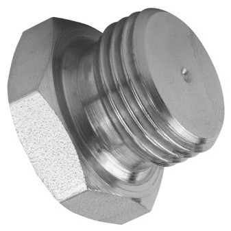 Hydraulic closing plug, BSP thread