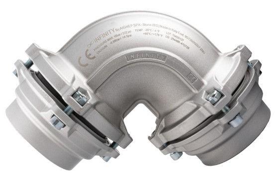 INFINITY Winkel 90°Aussendurchmesser 110mm
