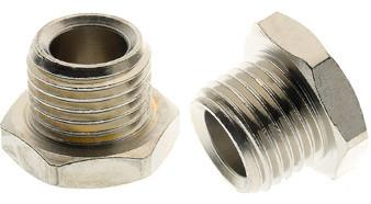 Closing nut - cylindrical male thread