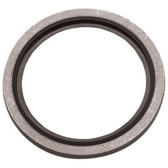 Hydraulic seal rings with viton liner, BSP thread, stainless steel