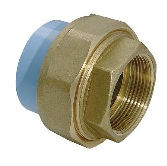 GIRAIR 3 Piece Unions female thread brass