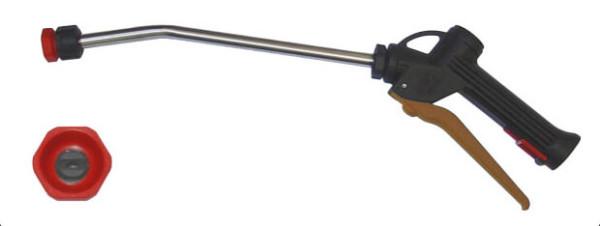 Schaumlanze mit Edelstahl Rohr, brauner Hebel, Lanzen länge 300mm, 600mm, 750mm, Schaumdüse