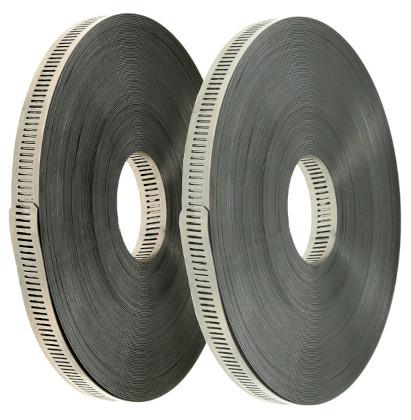 Durchgestanztes Endlosband 30 Meter, Bandbreite 13mm