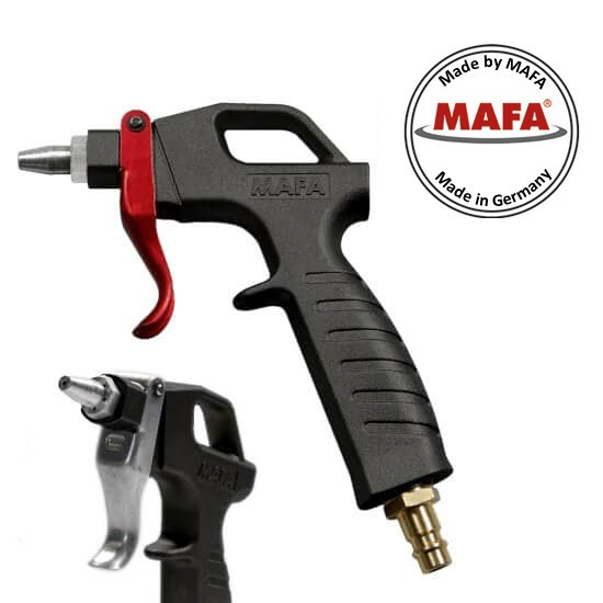 MAFA blow gun P4000 made of glass fiber reinforced polyamide PA6, with protective nozzle