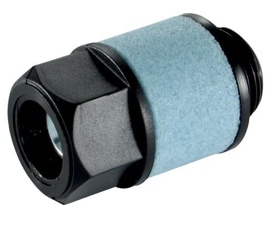 Schalldämpfer mit Einstellbarer Abluft aus Polyethylen