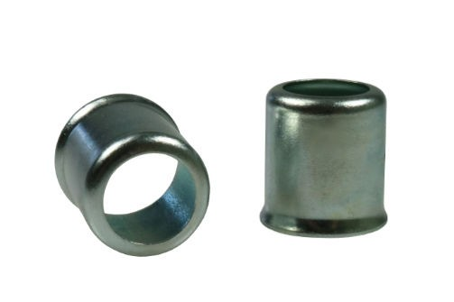 Sleeves in steel zinc plated and AISI304