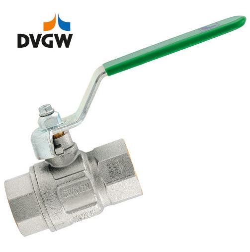 Brass-Ball valves PN50 - DVGW - Lever handle, FT