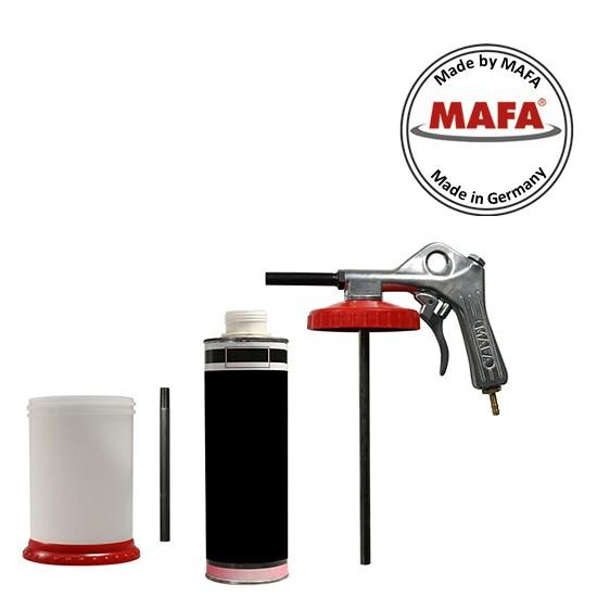 Spraygun B625P SUPER - for bulk material and 1liter screw can