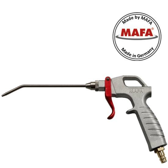 MAFA Ausblasepistole mit Blasverlängerung BV 150mm abgewinkelt