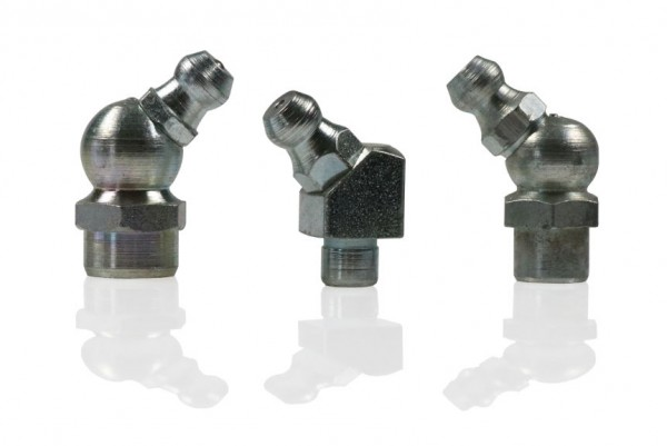 Grease nipples DIN71412 H2 B/45° Overview