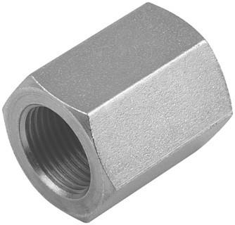 Hydraulik Muffe HDMU1-2 Innengewinde BSP