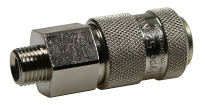 Coupling socket NW6 Type52, male thread