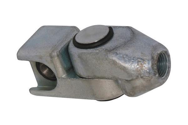 Schwenk-Schiebekupplung für Schmiernippel M1 Kopf-ø16mm nach DIN3404