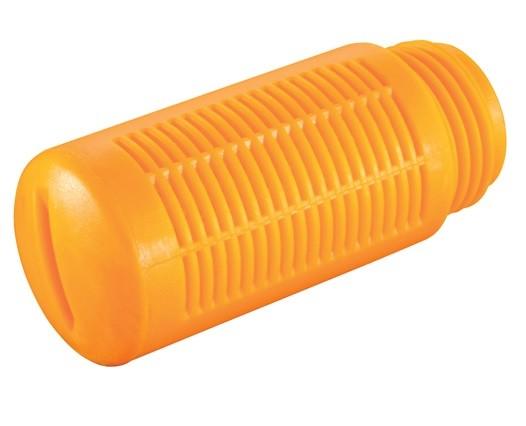 Schalldämpfer einfach aus Kunststoff