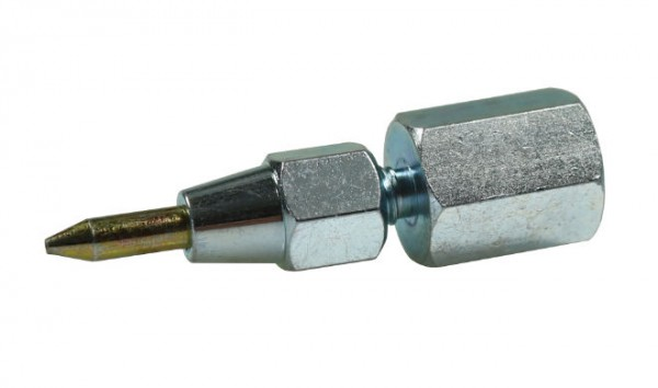 Needle pointed nozzle for propeller shaft and smallest grease nipples
