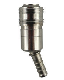 Coupling socket NW7.2 Type26, hose connector, 360° rotary/40°swiveling