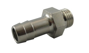 Thread-hose nozzle with male thread - special model