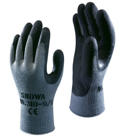 SHOWA 310 GRIP BLACK